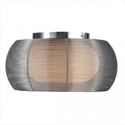 LAMPA SUFITOWA TANGO, tango, MX1104-2 (SILVER), Zuma Line, oświetlenie, lampy sufitowe, nowoczesne, srebrna lampa, dekorplanet