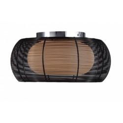 LAMPA SUFITOWA TANGO, tango, lampy, MX1104-2L (BLACK), Zuma Line, lampy sufitowe, sufitowa lampa, dekorplanet, oświetlenie