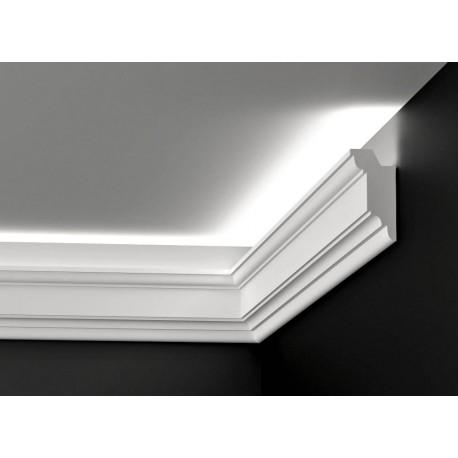 DWPO 03, Listwy oświetleniowe, styropianowe, LED, gzymsy oświetleniowe, sztukateria wewnętrzna, listwa led,