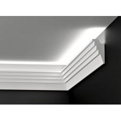 DWPO 13, Listwy oświetleniowe, przysufitowe, gzymsy oświetleniowe, listwy led, listwa oświetleniowa styropianowa,