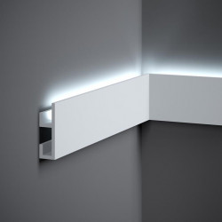 QL019 LISTWA ŚCIENNA LED, MARDOM DECOR PURE, LISTWA ŚCIENNA POLIURETANOWA, LISTWA POLIURETANOWA LED, LISTWY ŚCIENNE LED,