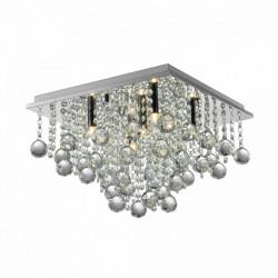 RANGEL LAMPA SUFITOWA SREBRNA, LAMPY SUFITOWE ZUMA LINE, LAMPY SUFITOWE GLAMOUR, WISZĄCA LAMPA SUFITOWA, DEKORPLANET