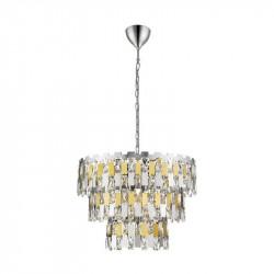 ANZIO ZUMA LINE, P0480-04A-F4D7 ZUMA LINE, LAMPA WISZĄCA Z KRYSZTAŁKAMI, LAMPY WISZĄCE ZUMA LINE, ŻYRANDOL, LAMPA LED,