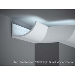 LISTWA OŚWIETLENIOWA, MD362 MARDOM DECOR, Light Guard LISTWA ŚCIENNA LED, LISTWA LED MARDOM DECOR, LISTWA ŚCIENNA LED, md362