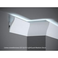 LISTWY OŚWIETLENIOWE LED, QL010 MARDOM DECOR, LIGHT GUARD LISTWA PRZYSUFITOWA, LISTWY ŚCIENNE LED, LISTWY ŚCIENNE LEDOWE MARDOM,