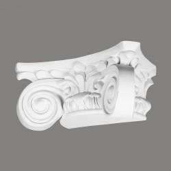 PÓŁKOLUMNA N1030-2 Mardom DECOR z dwoma wolutami w stylu jońskim