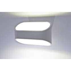 Lampa GRACIA MB3352 white/white metal/alumini Azzardo