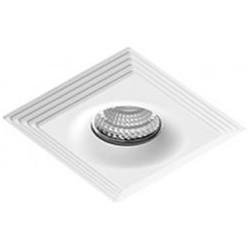 Lampa LUCIANO S WH NC1760SQ-CH White / aluminium IP Azzardo