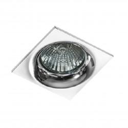 Lampa IVO SQUARE 1 GM21001S Chrome / aluminium IP20 Azzardo