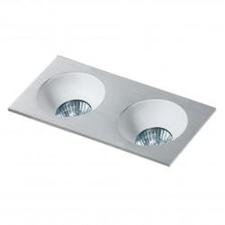 Lampa HUGO 2 Downlight bez wkładu GM2203 Downlight chrome / alumin Azzardo