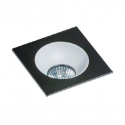 Lampa HUGO 1 Downlight bez wkładu GM2118S Downlight black / alumin Azzardo