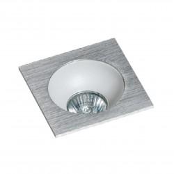 Lampa HUGO 1 Downlight bez wkładu GM2118S Downlight chrome / alumi Azzardo