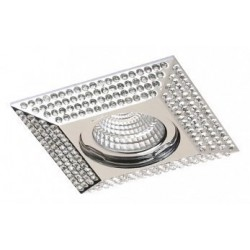 Lampa PIRAMIDE XL NC1673SQ-CH Chrome / aluminium I Azzardo