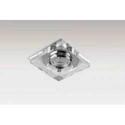 Lampa VEKTOR S SC760SQ-A / aluminium IP20/cryst Azzardo