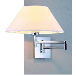 Lampa TRAPEZIO WHITE WALL MB2311-S WH whiteMetal/farbric Azzardo