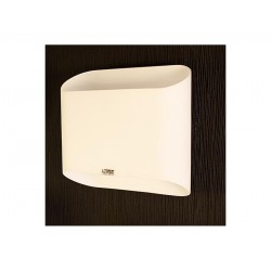 Lampa PANCAKE wall MB 329-2 white glass Azzardo